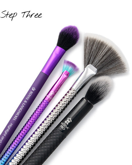Natural Contour - BMD-120, BMX-120, M03, and BMD-P806 Professional Makeup Brushes