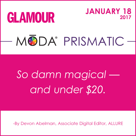 Glamour Spotlight on our Moda Prismatic Face Perfecting Kit