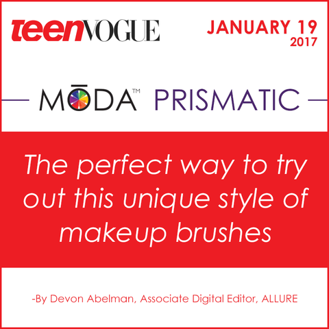 Teen Vogue Spotlight Spotlight on our Moda Prismatic Face Perfecting Kit