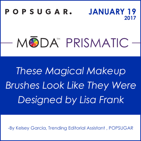 Pop Sugar Spotlight on our Moda Prismatic Face Perfecting Kit