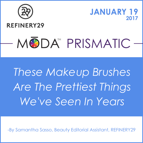 Refinery29 Spotlight on our Moda Prismatic Face Perfecting Kit