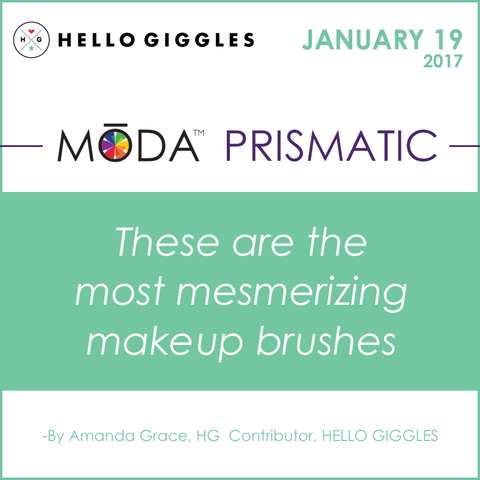 Hello Giggles Spotlight Spotlight on our Moda Prismatic Face Perfecting Kit