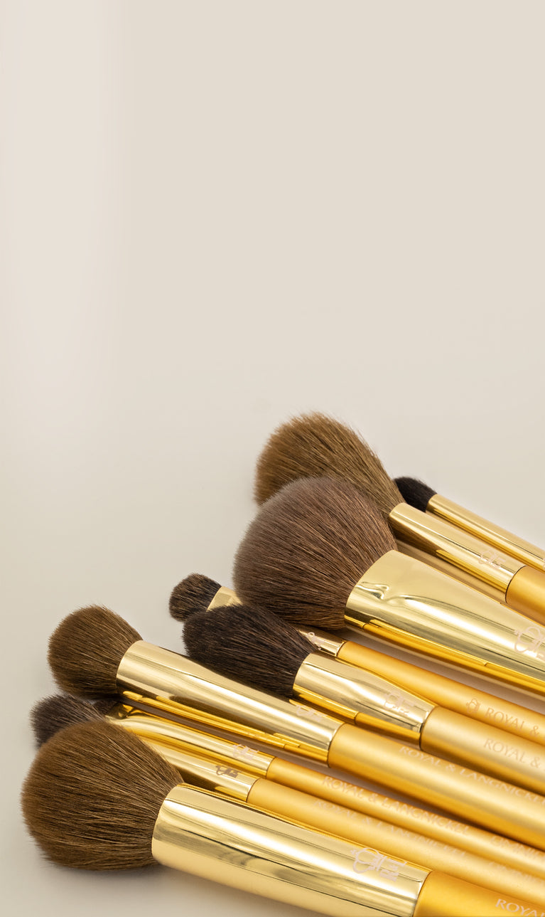 OMNIA® Gold - Professional Quality Makeup Brushes