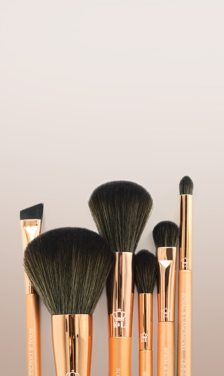 OMNIA® Rosegold - Professional Quality Makeup Brushes