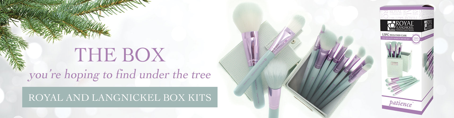 The Box you're hoping to find under the tree - R&L Box Kits