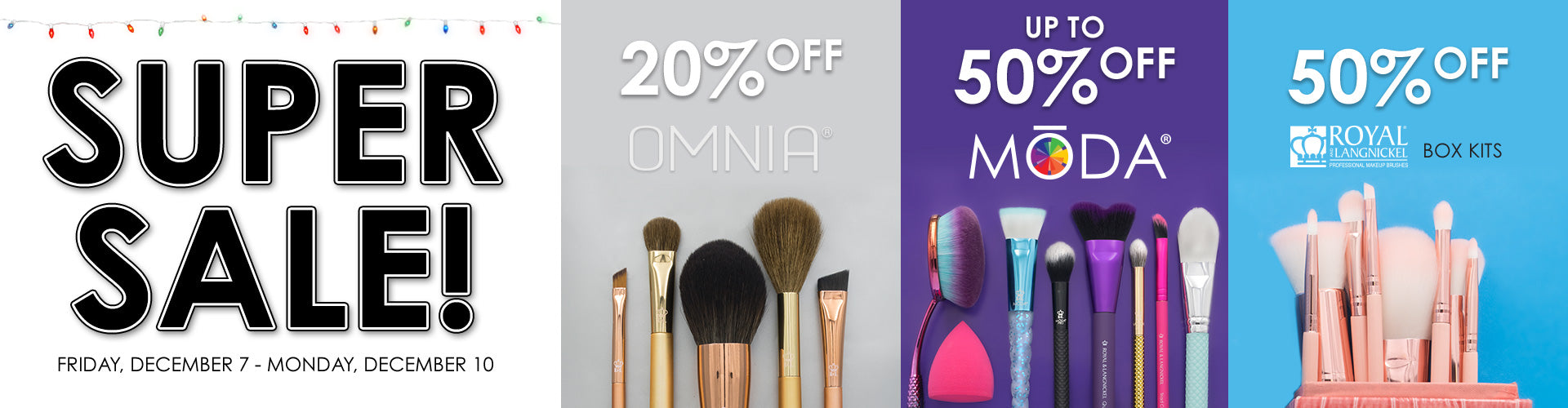 Super Sale 2018 - up to 50% off MODA, OMNIA and more! - ends Monday, December 10th at 10:00am CST