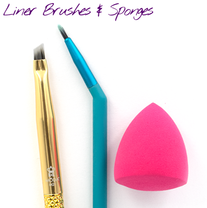 Liner Brushes & Sponges