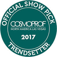 Cosmoprof 2017 Official Show Pick as Trendsetter badge