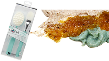 MODA Spa Facial Treatment Cleansing Kit with different application materials
