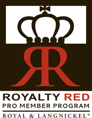 Royalty Red Pro Member Program logo
