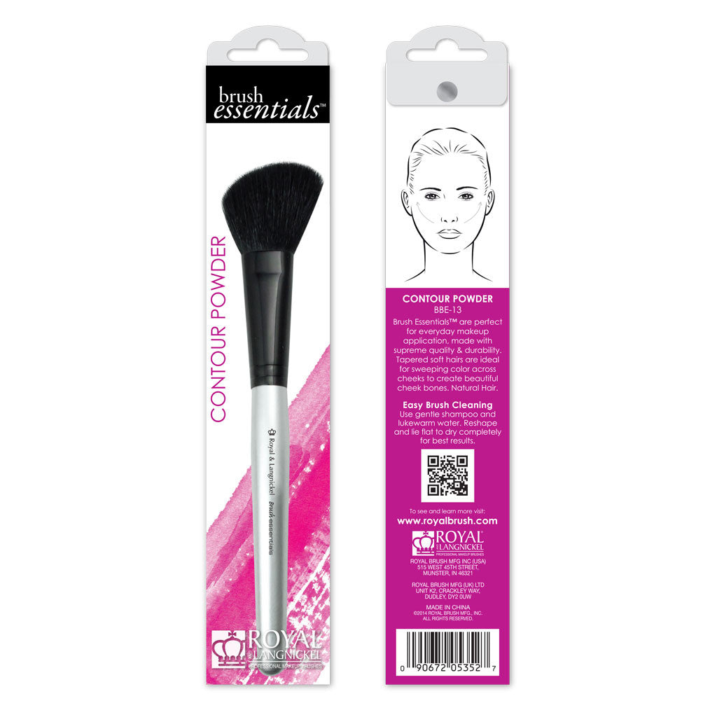 Brush Essentials™ Contour Powder retail packaging