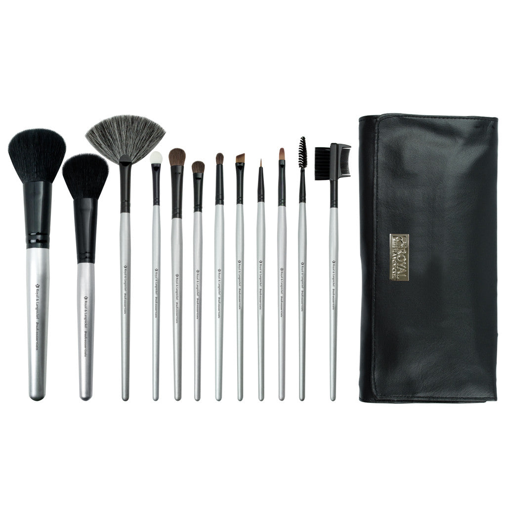 Brush Essentials™ 13pc Kit BBE-SET12 - Makeup Brushes and Brush Wrap