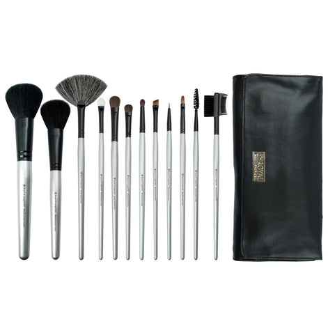 BBE-SET12 - Makeup Brushes and Brush Wrap