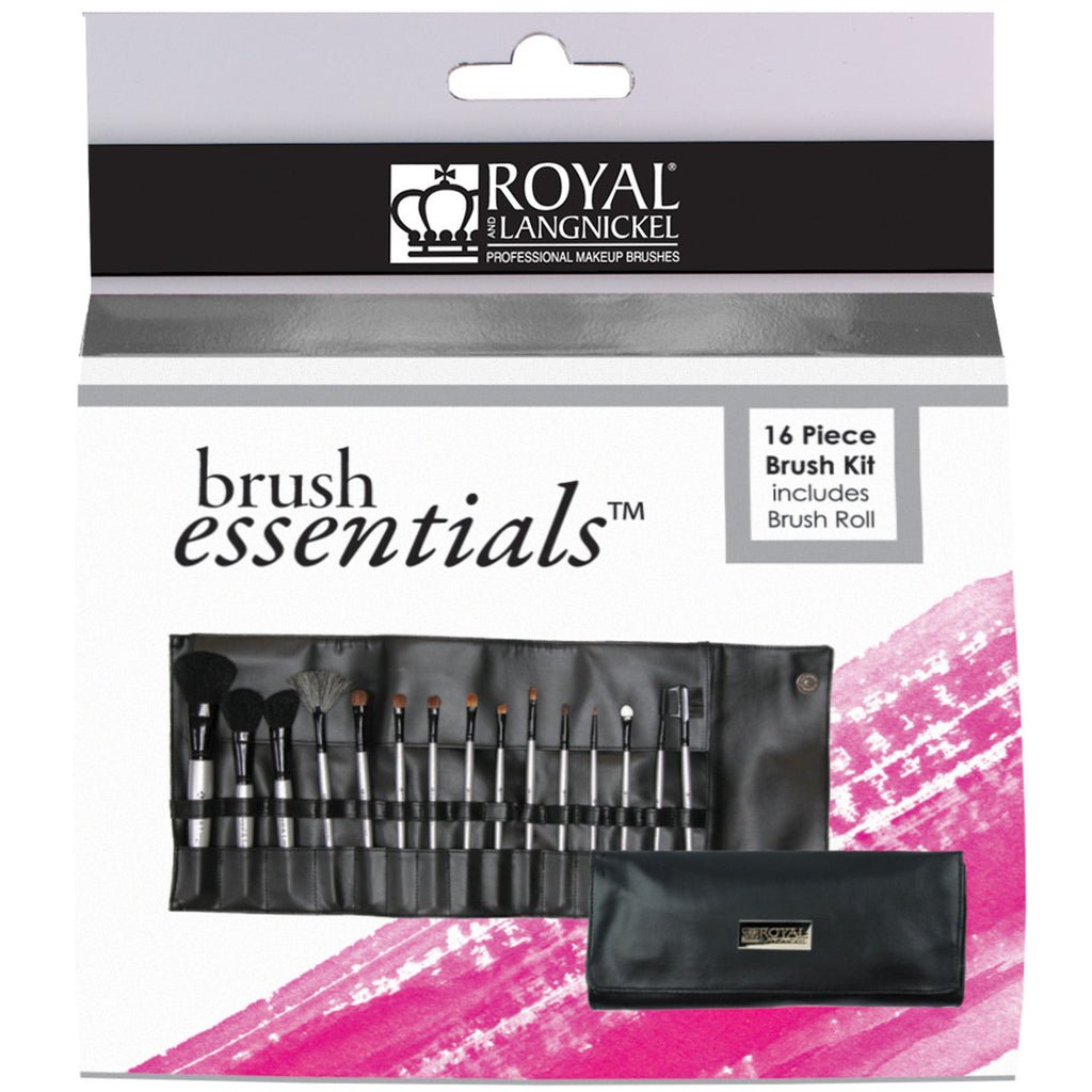 Brush Essentials™ 15-piece Kit retail packaging