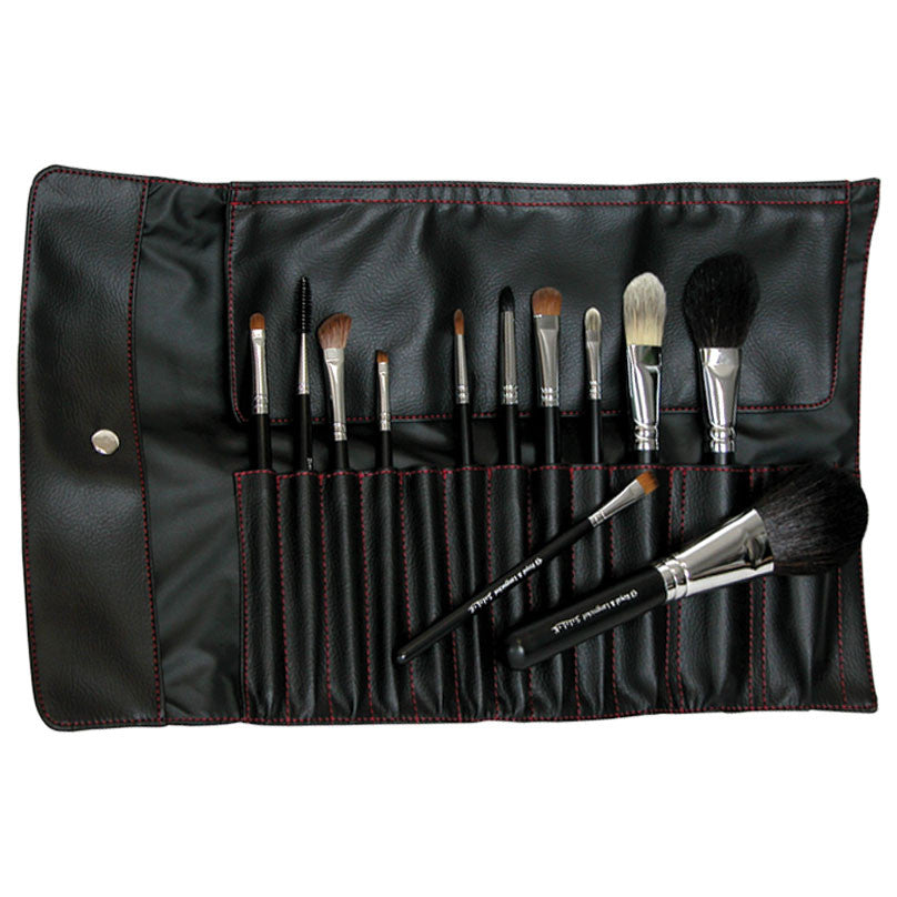 S.I.L.K® Pro 12-piece Kit with brushes in wrap