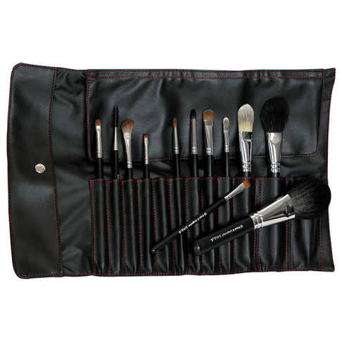 Makeup Brushes in Brush Wrap