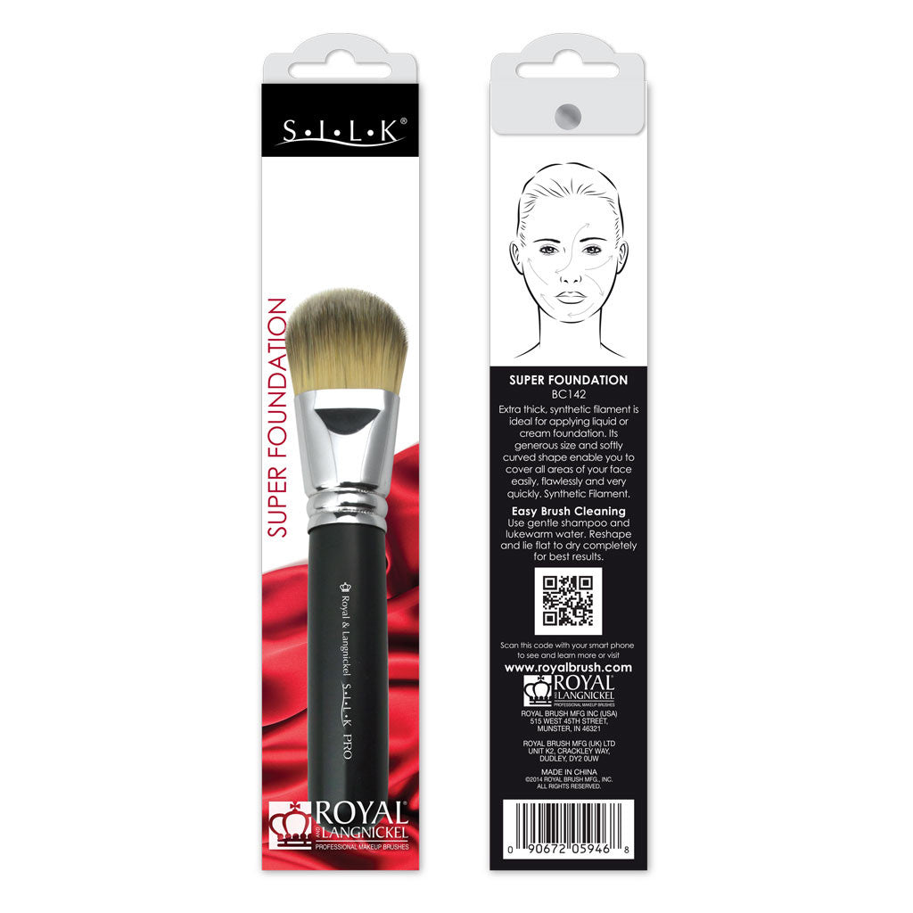 S.I.L.K® Super Foundation retail packaging