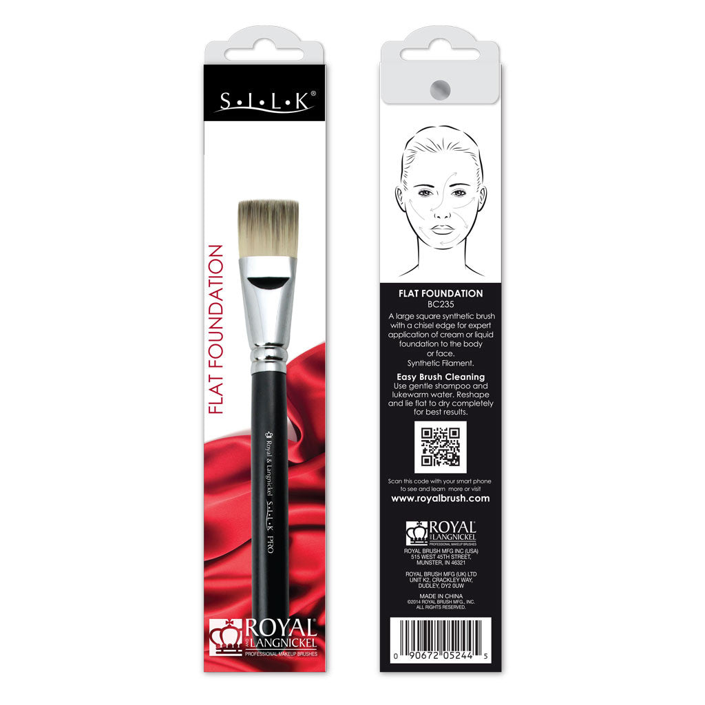 S.I.L.K® Flat Foundation retail packaging