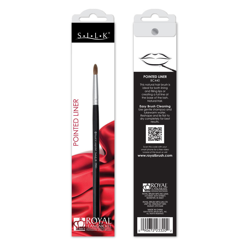S.I.L.K® Pointed Liner retail packaging