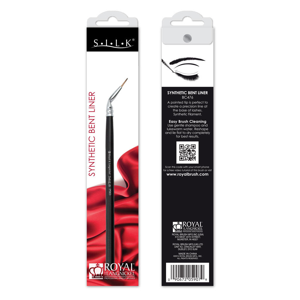 S.I.L.K® Synthetic Bent Eyeliner retail packaging