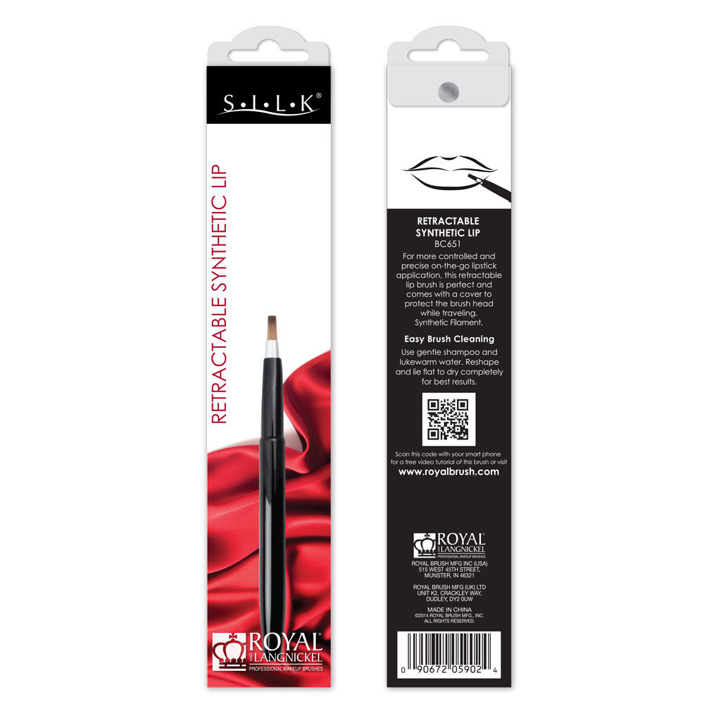 S.I.L.K® Retractable Synthetic Lip retail packaging
