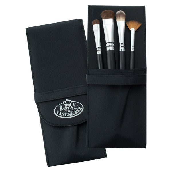 S.I.L.K® FANTASY 5pc Eye Kit Makeup Brushes in Compact Case