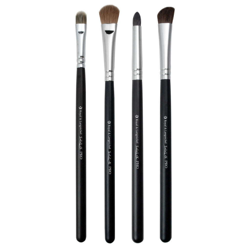 S.I.L.K® SMOKY 4pc Eye Kit Makeup Brushes