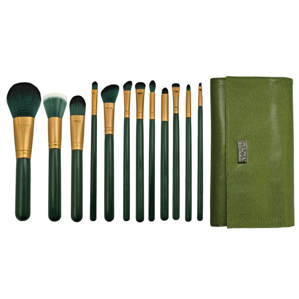 Guilty Pleasures... Envy™ – 13pc Brush Wrap Kit Makeup Brushes and Brush Wrap