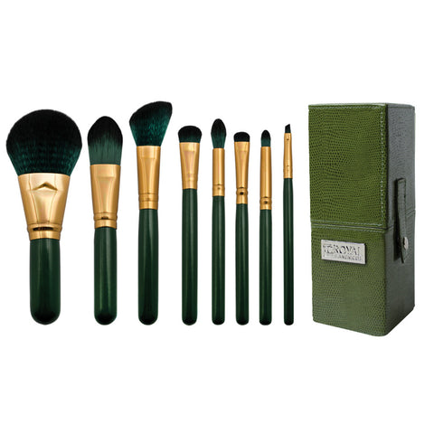 BGE-SET8T-S - Guilty Pleasures... Envy™ – 8pc Travel Brush Kit - Square Box
