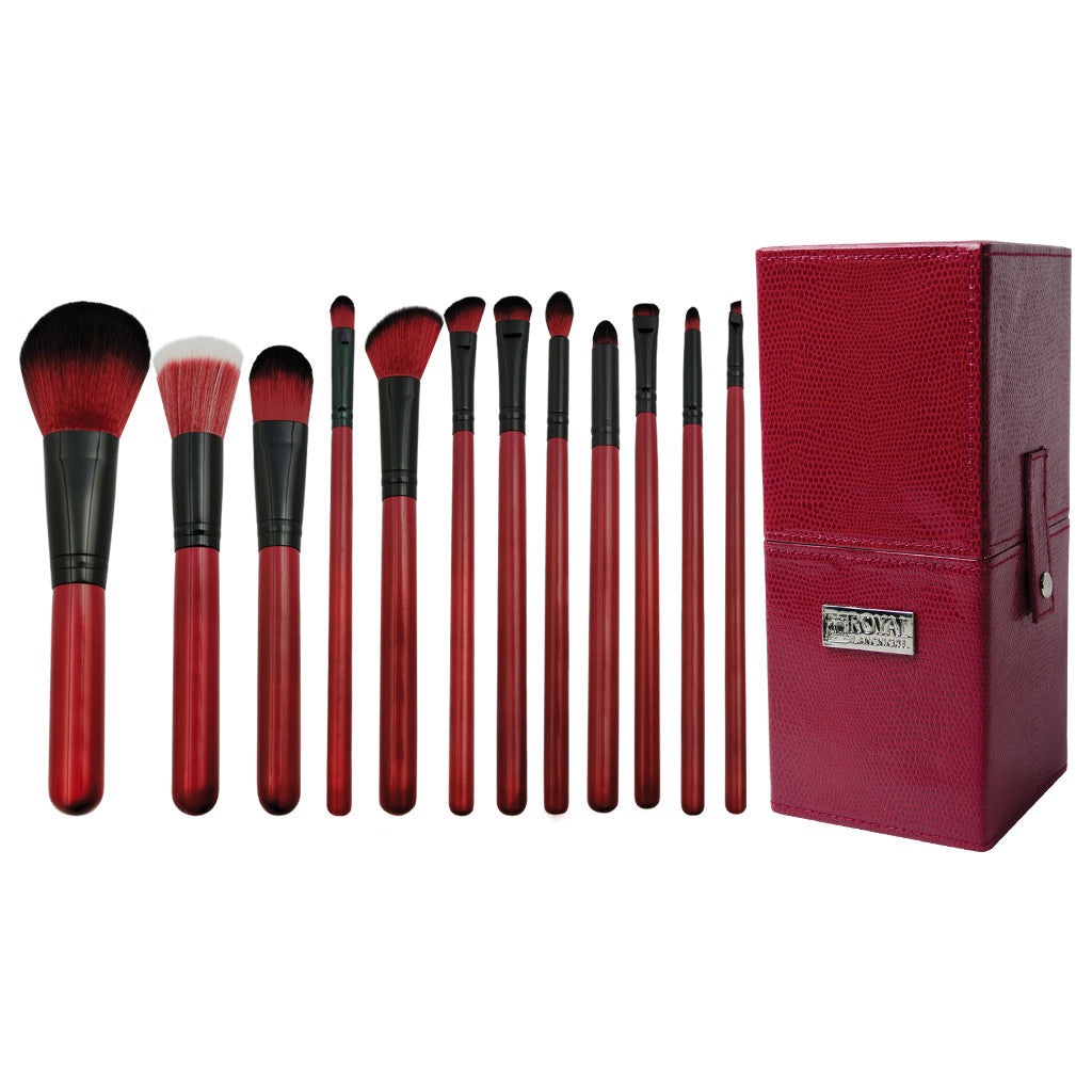 Guilty Pleasures... Lust™ – 13pc Brush Kit Makeup Brushes and Storage Box