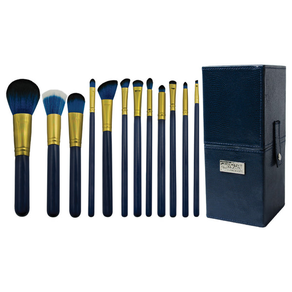 Guilty Pleasures... Pride™ – 13pc Brush Kit Makeup Brushes and Storage Box