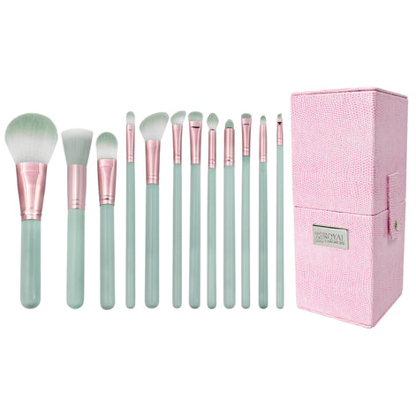 Makeup Brushes and Storage Box