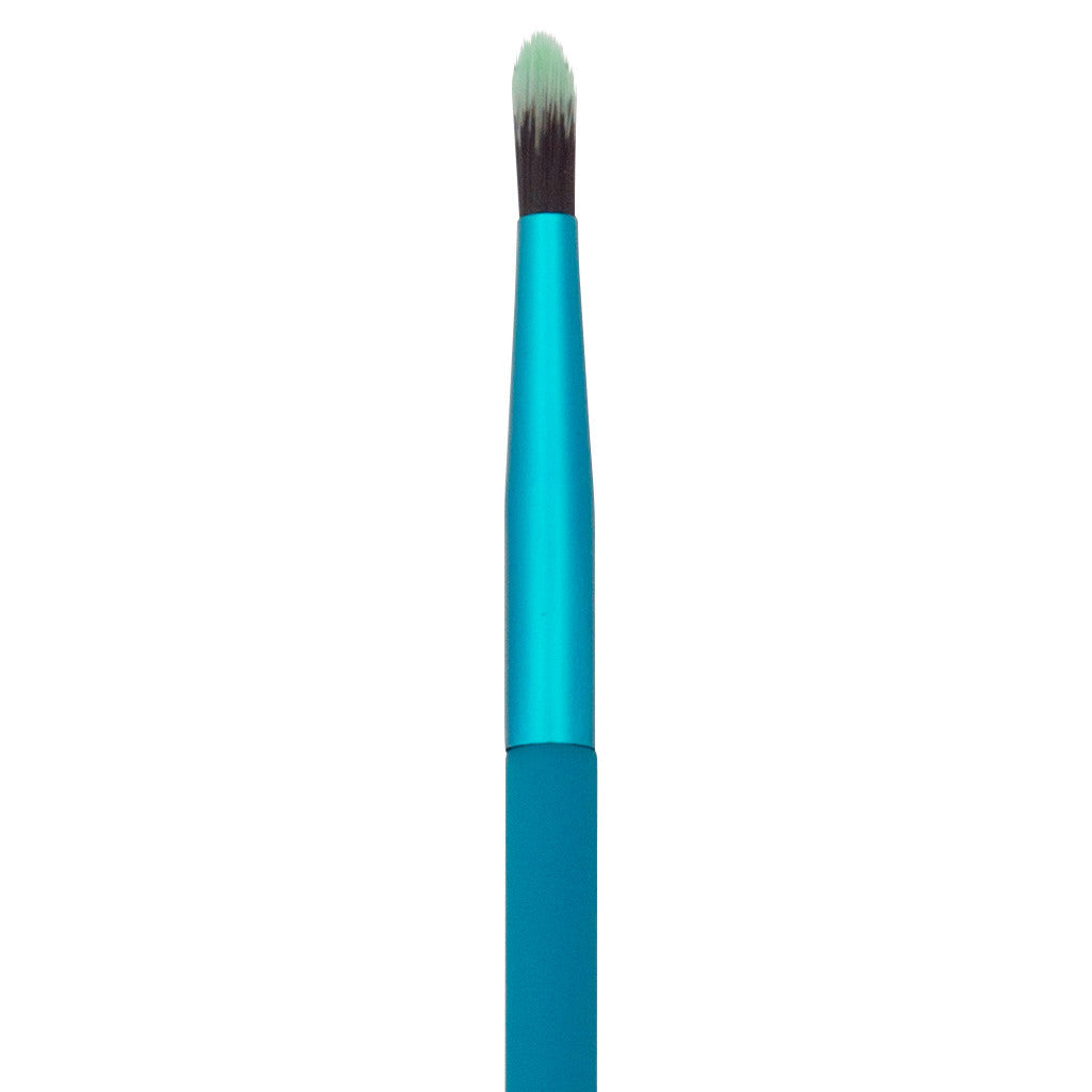 Close-up of hair and ferrule of MODA Pointed Liner makeup brush