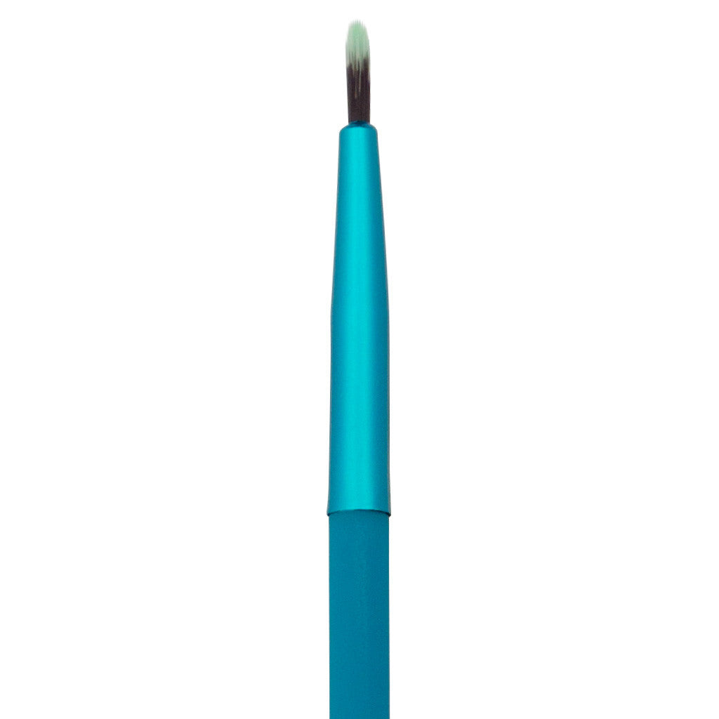 Close-up of hair and ferrule of MODA Fine Liner makeup brush