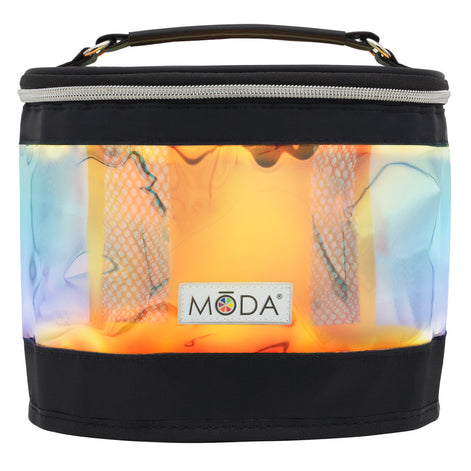 MŌDA® Iridescent Train Case