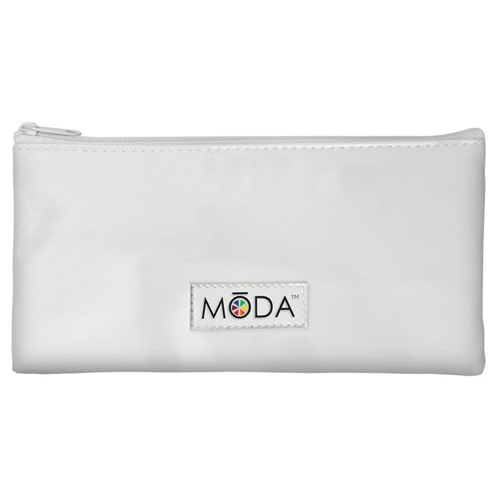 Zip Pouch included with BMD-CK4 - MŌDA® 5pc Complete Kit Makeup Brushes