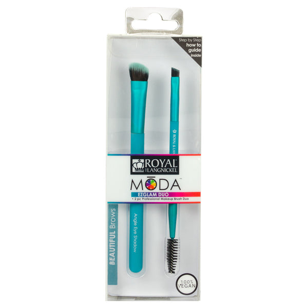 BMD-EGBB - MODA® EZGLAM Duo - Beautiful Brows Makeup Brushes