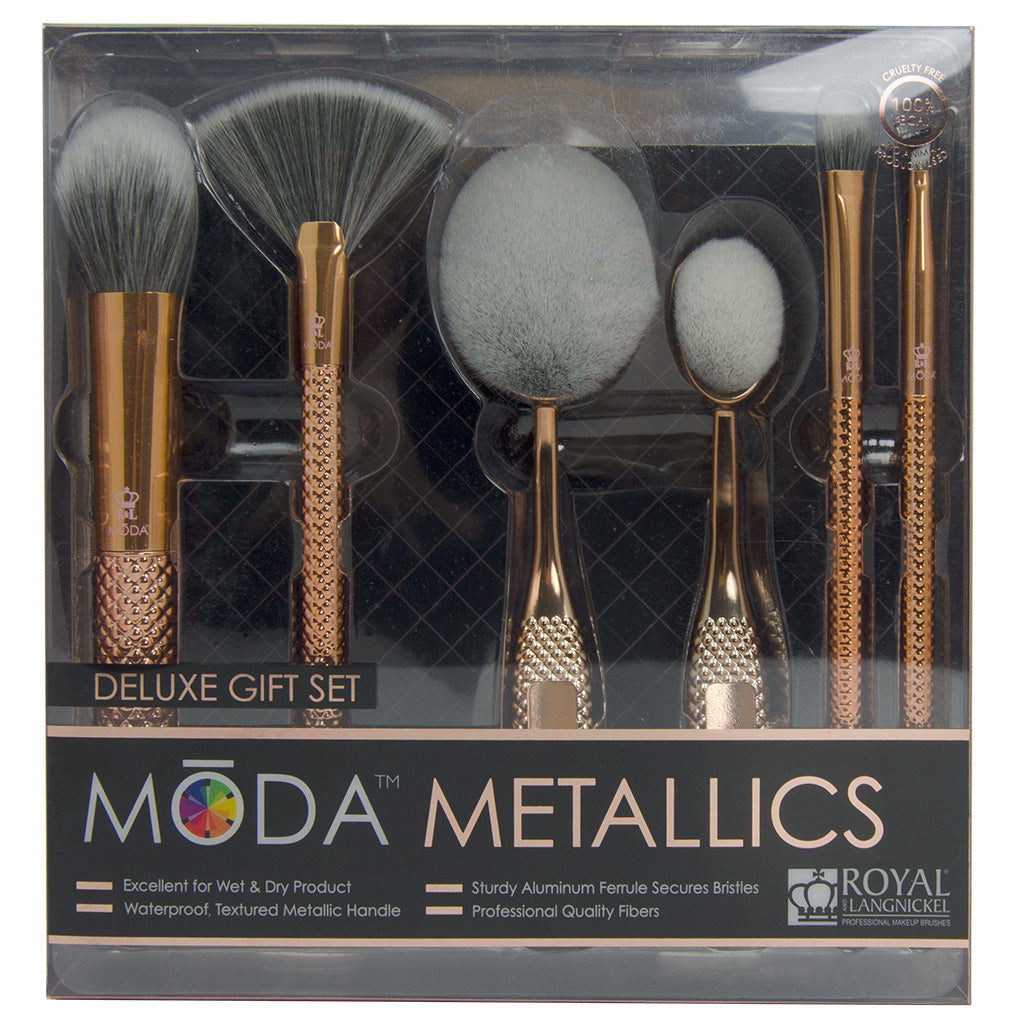 BMD-MGS2 - MODA® Metallics 6pc Deluxe Gift Kit Retail Packaging