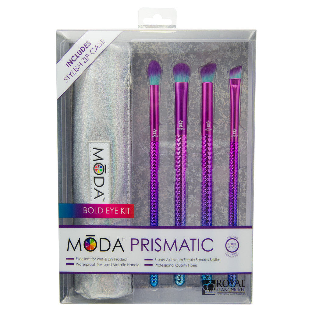 BMD-PBEKIT5 - MODA® Prismatic 5pc Bold Eye Kit Retail Packaging