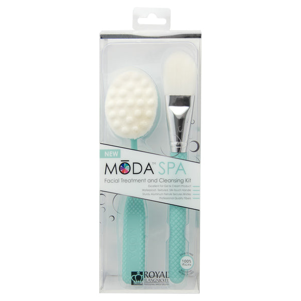BMD-SPASET2 - MODA® Spa Facial Treatment & Cleansing Kit Makeup Brushes