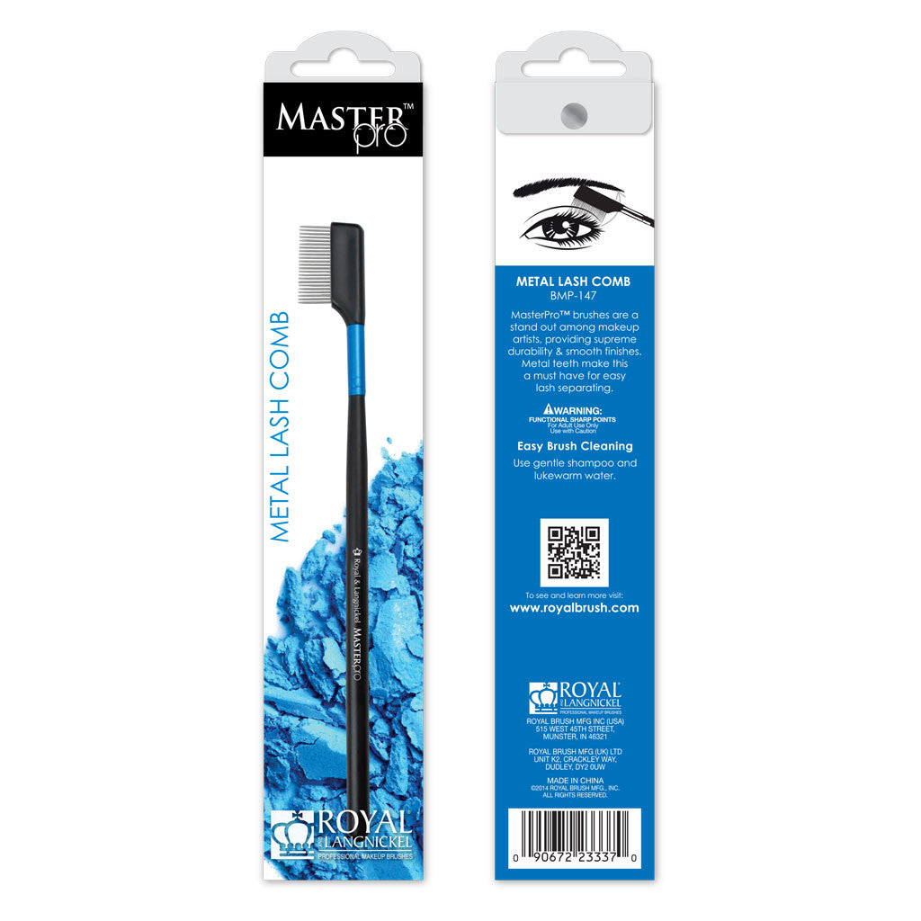 Master Pro™ Lash Comb retail packaging