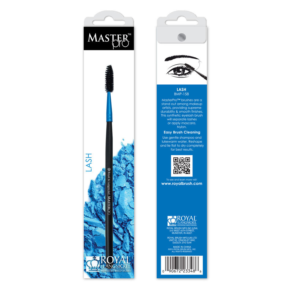 Master Pro™ Lash Brush retail packaging