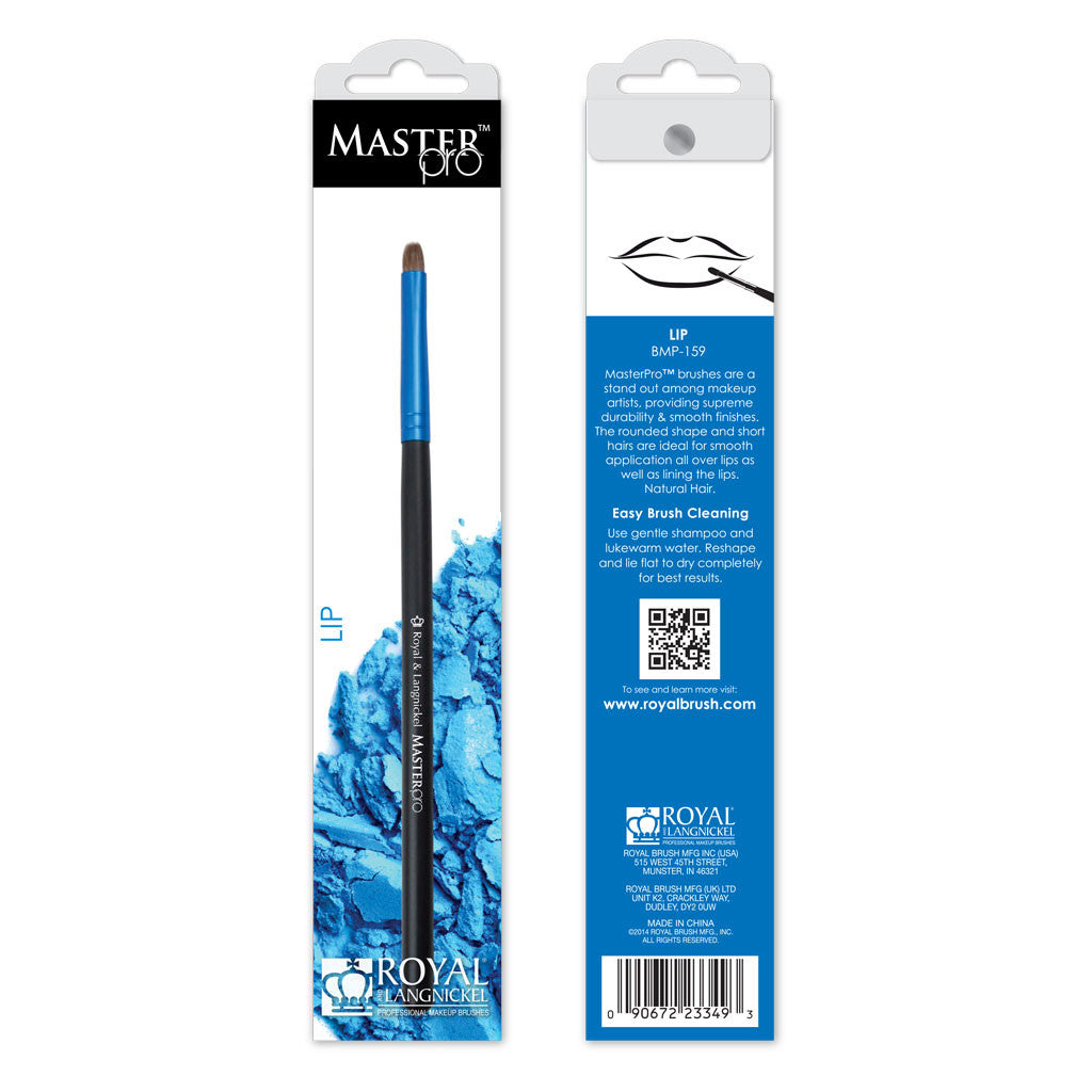 Master Pro™ Lip retail packaging