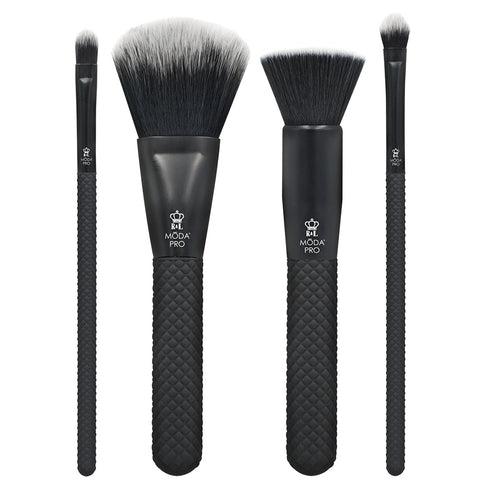 BMX-CK5 - MODA® Pro 5pc Complete Kit Makeup Brushes