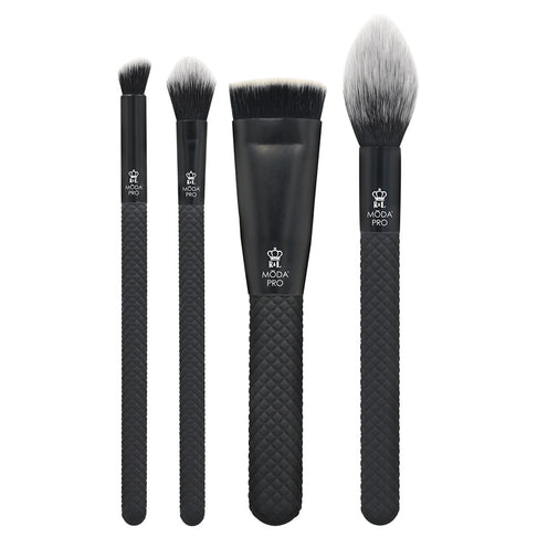 BMX-SGK5 - MODA® Pro 5pc Sculpt & Glow Kit Makeup Brushes