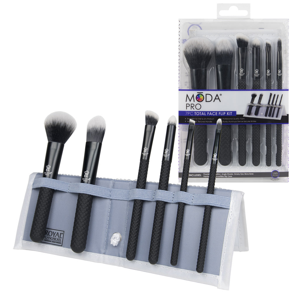 MŌDA® Pro 7pc Total Face Kit MŌDA® Pro 7pc Total Face Kit