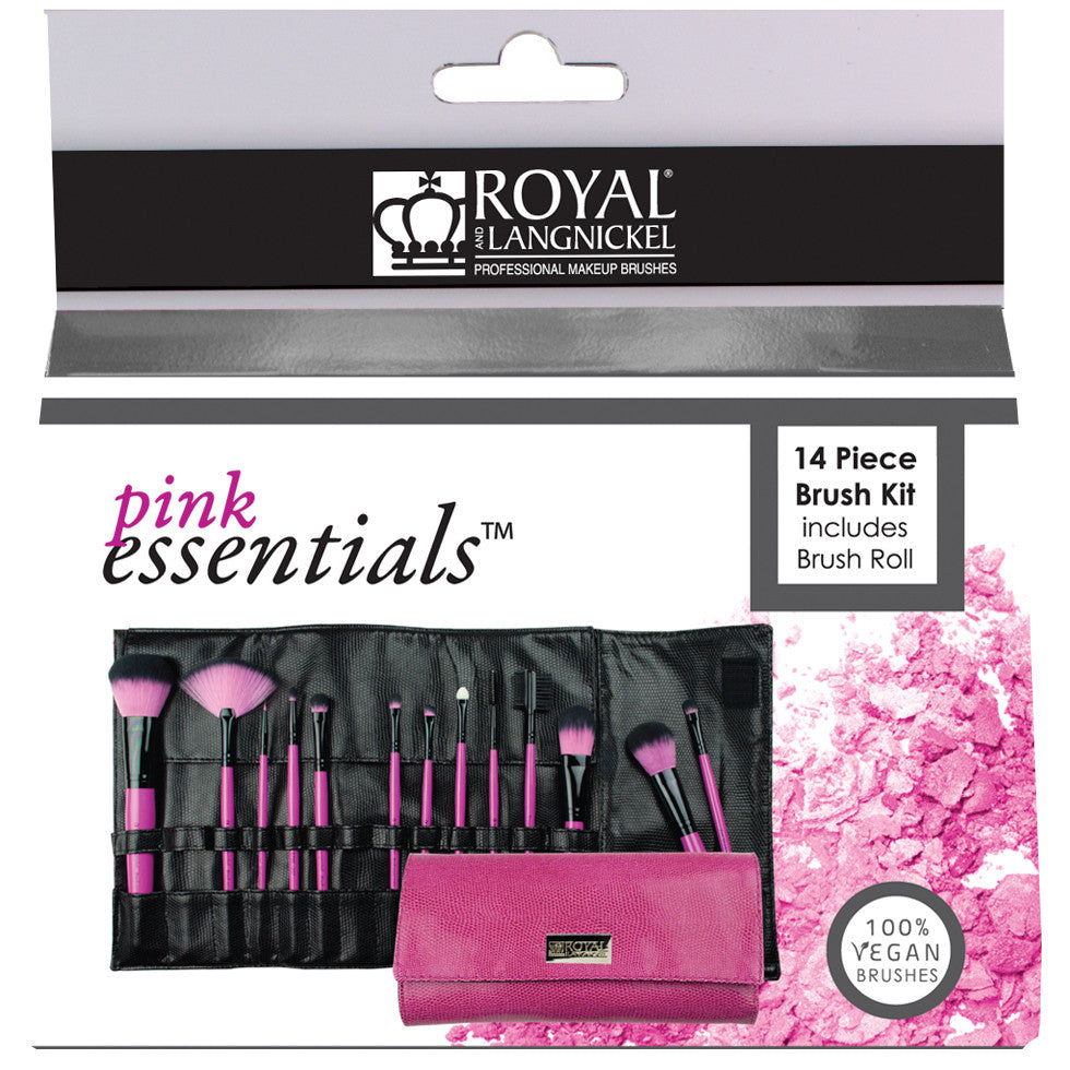 Pink Essentials™ Synthetic 13-piece Wrap Kit retail packaging