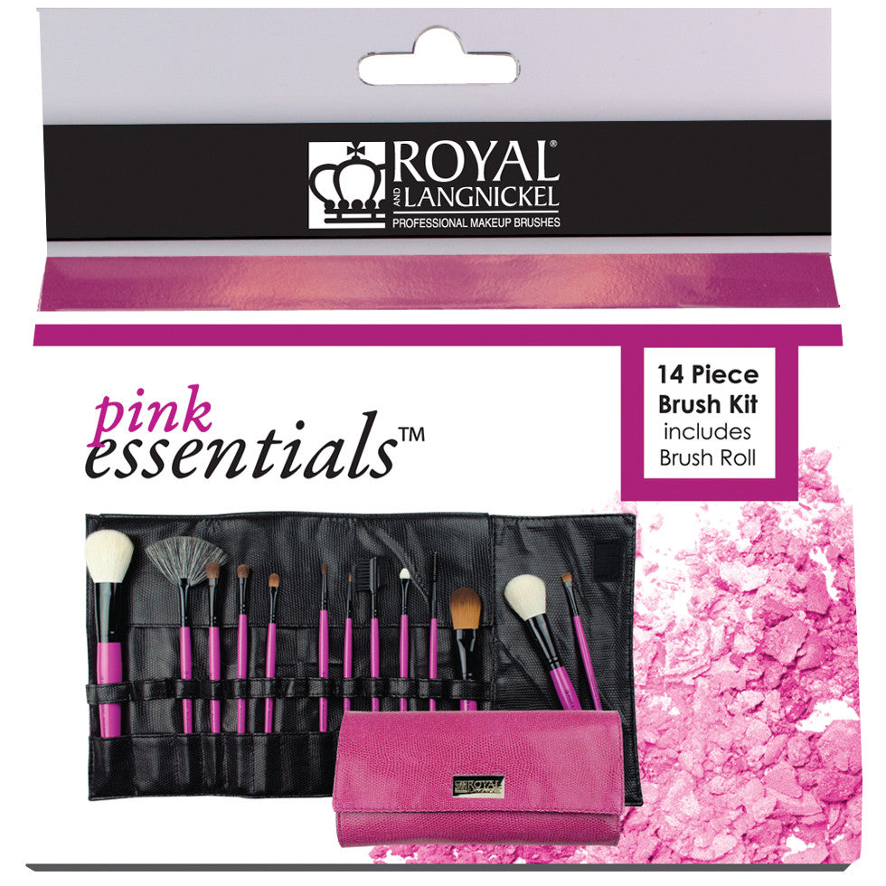 Pink Essentials™ Natural 13-piece Wrap Kit retail packaging