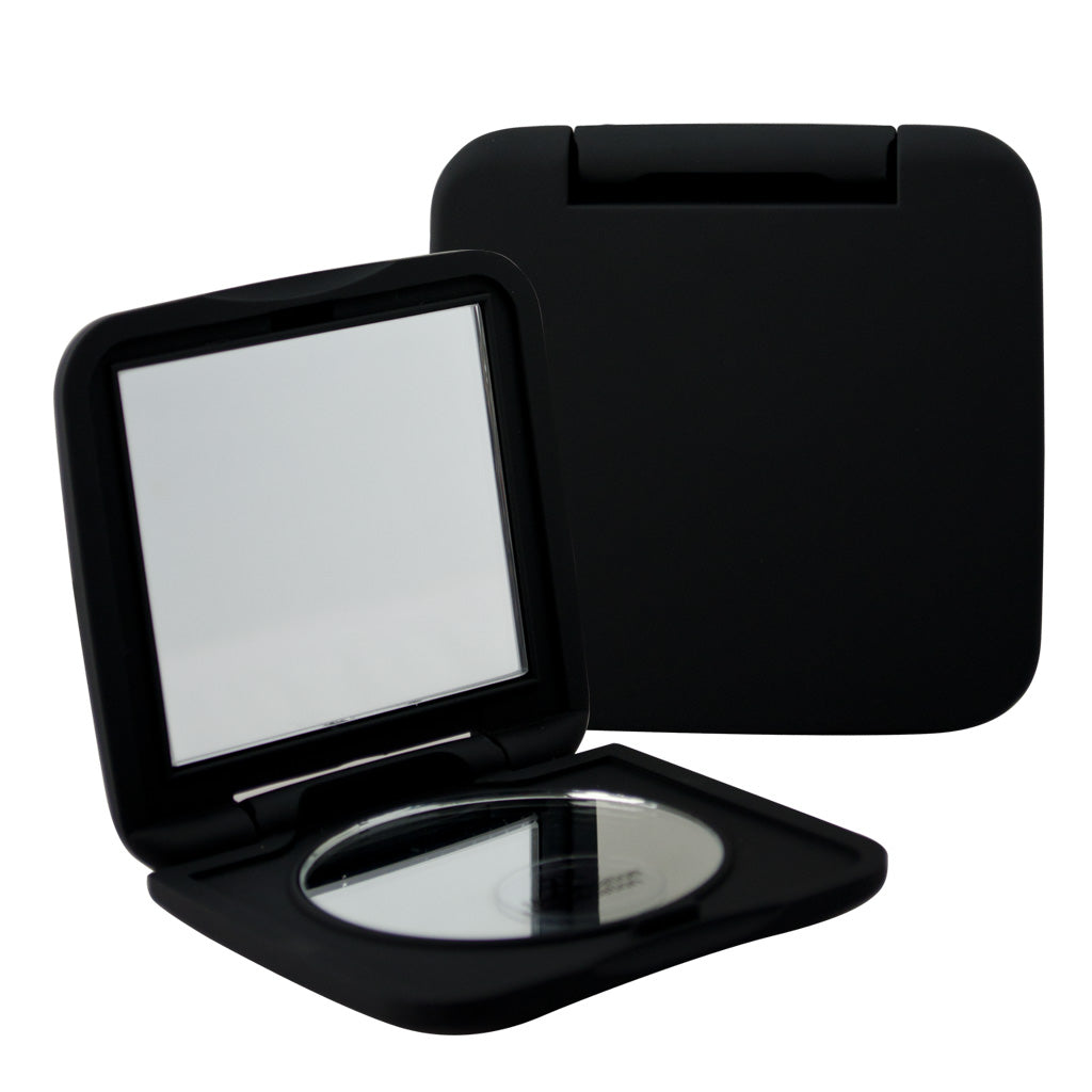 Chique™ Compact Mirror Open and Closed