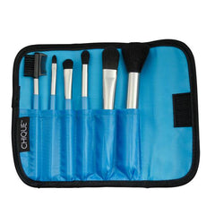 Chique™ 7pc Blue Complete Brush Set